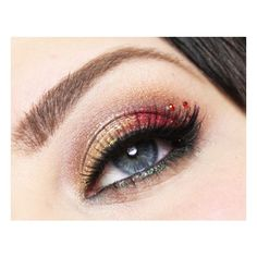 Cranberry Gold | Idea Gallery | Makeup Geek ❤ liked on Polyvore