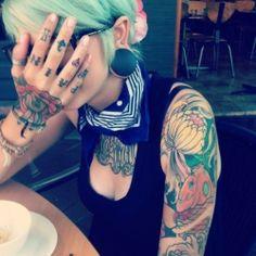 arm tattoo for fashion girls   #tattoo #girls  #sexy     www.loveitsomuch.com