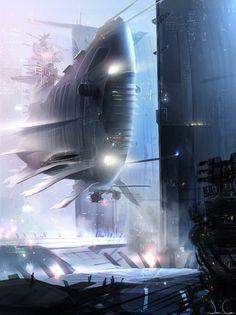 Amazing Futuristic Digital Art- No space by Jcsketch