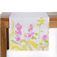Tischläufer BLUMEN Baumwolle bunt ca B:40 x L:150 cm