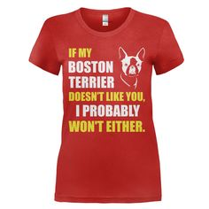If My Boston Terrier Doesn't Like You