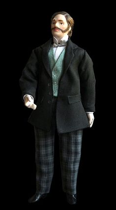 Victorian 1:12 scale Dolls for Sale