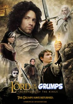 THE LORD OF THE GRUMPS - Game Grumps Movie Poster by EyebrowScar.deviantart.com on @deviantART