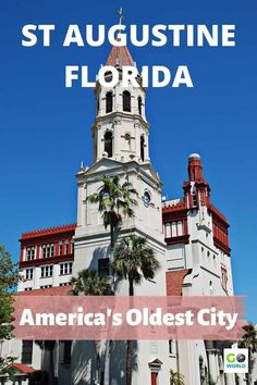 Discover all the things to do in St Augustine, Florida. It's one of America's oldest cities full of charm, history, ghosts and good food. #StAugustineFlorida #TravelFlorida #OldestCityinAmerica St Augustine Lighthouse, Florida Travel Guide, Stuff To Do, Things To Do, Tour Tickets, 50 States, Florida Beaches, Old City, Ghosts