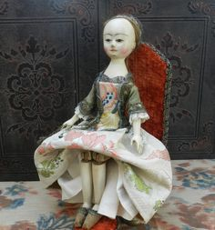 queen anne wooden doll - Google Search