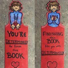 Undertale Frisk bookmark