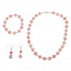 Patrón Abaci Crystal Jewelry Set