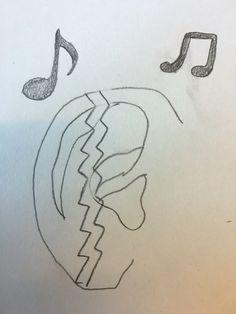 Dit is ongeveer wat ik ga maken. Dit is een schets en ik ga hem wat mooier maken.