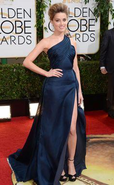 Amber Heard, Golden Globes 2014