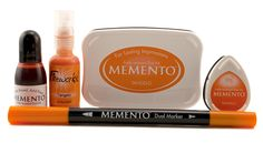 Morocco Orange Dual Tip Marker Memento
