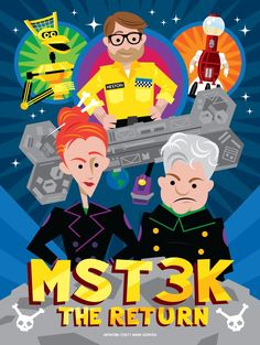Twitter Satellite Of Love, Fun Stuff, Geek Stuff, Get Movies, Mystery Science, Titanic, Crow, Theater, Folk