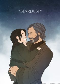 """whatever i do, i do it to protect you."" (jyn and galen erso art from rogue one: a star wars story)"