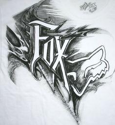 Fuchs – Tattoo's – Fuchs – Tattoos – Dirt Bike Tattoo, Motocross Tattoo, Bike Tattoos, Cool Tattoos, Sleeve Tattoos, Motocross Logo, Art Tattoos, Tatoos, Fox Racing Tattoos