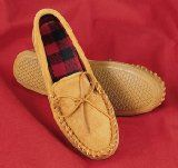 Here's How To... Make a Moccasin.  http://farmersmarketonline.com/howto4.htm