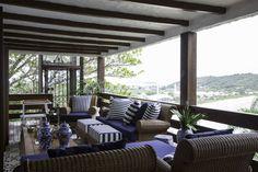 Casa de Fernanda Motta em Florianópolis é um perfeito refúgio de praia (Foto: Raphael Briest)