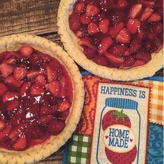 Strawberry Pie!  Joyfully, Chas