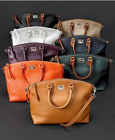 Dooney & Bourke Dillen II Satchel Collection - Dooney & Bourke - Handbags & Accessories