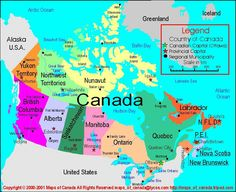 Canada Map With Capitals Map of canada Geography Map, World Geography, Bear Island, Capital Of Canada, Iceland Island, Road Trip Map, Education World, Historical Maps, Canada Travel