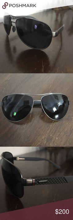 Gucci polarized men's aviators - Great gift! Brand new men's polarized Gucci aviators Gucci Accessories Sunglasses