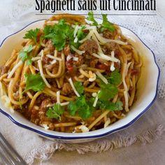 Spaghetti saus uit Cincinnati