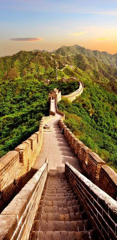The Great Wall of China – one of the Seven Wonders of the Modern World - a reminder that the civilizations of China and the times of Lao Tzu and Confucius reached great heights of wisdom and illumination well before there was a stirring of culture in the west.
