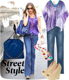 Street Style #1, created by ahpay12 on Polyvore