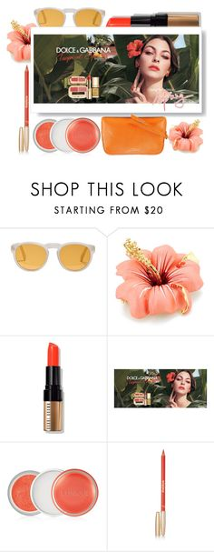 """TROPICAL SPRING LIPS"" by amltra ❤ liked on Polyvore featuring beauty, RetroSuperFuture, Bobbi Brown Cosmetics, Clinique, Sisley and Aspinal of London"