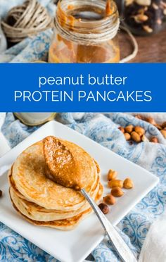 Dr Oz revealed the winner of his high protein pancake recipe contest: Peanut Butter Protein Pancakes! http://www.recapo.com/dr-oz/dr-oz-recipes/dr-oz-healthy-peanut-butter-protein-pancakes-recipe/