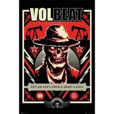 Volbeat Plakat Outlaw Gentlemen & Shady Ladies