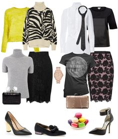 Lace Skirts and Trendy Tops
