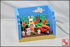 https://flic.kr/p/tEnT4f | LEGO Minifigures 'Suit Guy' Habitats (by Agnes Choi) | Suit Guy is Korea collector are called 'Alba'