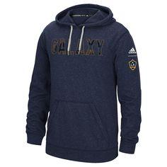 Men's Adidas Los Angeles Galaxy Ultimate Hoodie, Size: Medium, Blue (Navy)