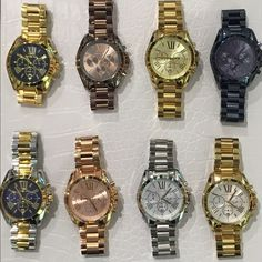 NWT  Michael Kors watches. U pic color. $290. You get to pick which one you want. Michael Kors Jewelry