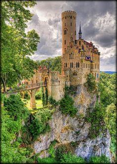Lichtenstein Castle - Honau - Germany