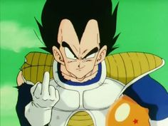 My favorite picture of Vegeta xD