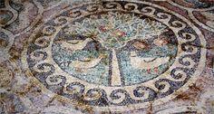 Muğla'da tarihi mozaik bulundu