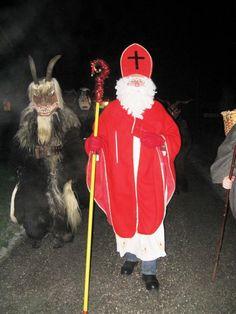 Impressionen vom Nikolaus in Obertraun Quelle: Perstl