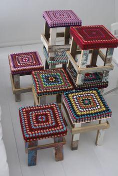 new ideas crochet pillow cover mandala Crochet Cushion Cover, Crochet Cushions, Crochet Pillow, Crochet Motifs, Crochet Granny, Knit Crochet, Crochet Patterns, Crochet Doilies, Crochet Ideas