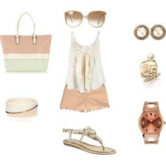 Classy Summer, created by sdezutter on Polyvore