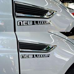 Detailkorea Car Slogans Lettering Emblem Silver B-Type for All Cars #DETAILKOREA #Detailkorea #Car #Car_Emblem #Emblem #New_Luxury