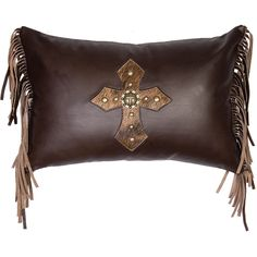 Western Pillow Ideas On Pinterest Leather Pillow