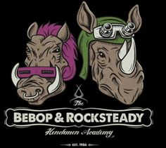 The Bebop and Rocksteady t-shirt features the two mutant TMNT villains. Wear this Bebop and Rocksteady Teenage Mutant Ninja Turtles shirt to take on your foes. Apocalypse, Bebop And Rocksteady, Tmnt Turtles, Cartoon Fan, Teenage Mutant Ninja Turtles, Indie Art, Geek Out, Animated Cartoons, Geek Chic