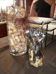What if you don't have enough corks for this?  Uh....nevermind.  That's not a problem.