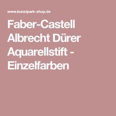 Faber-Castell Albrecht Dürer Aquarellstift - Einzelfarben