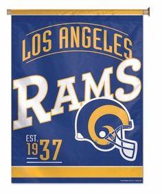 Los Angeles LA RAMS Vertical Flag 27