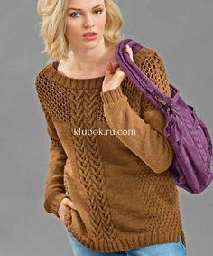 Модные удлиненные пуловеры спицамиЭти две модели пуловера связать непросто,узоры требует сосредоточенности и внимания.Зато когда вы их свяжете, они наверняка станут одними из ваших любимых и универсальных вещей.Такие пуловеры с разрезами всегдаудлиняют фигуру визуально и делают её стройнее. Pullover, Sweaters, Fashion, Crocheting, Moda, Fashion Styles, Sweater, Fashion Illustrations, Sweatshirts
