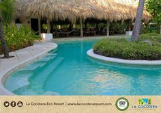Come and take a swim at our swimming pool! #Bookus #LaCocoteraEcoResort