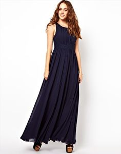 Image 1 - French Connection - Maxi robe avec jupe évasée