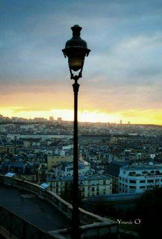 Paris, view from Montmartre