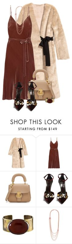 """Untitled #2739"" by m-aigul712 ❤ liked on Polyvore featuring Frame, Burberry, Lanvin, Orduna Design and Chanel"